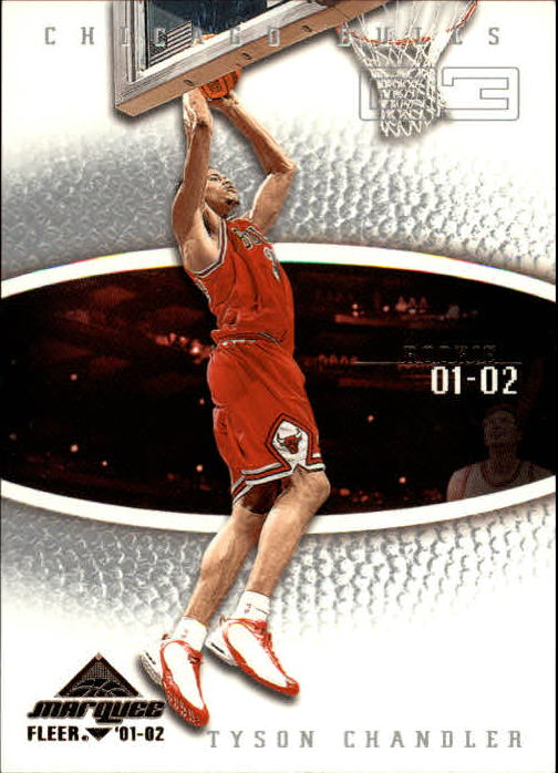 2001-02 Fleer Marquee #102 Tyson Chandler RC