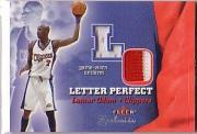 2001-02 Fleer Exclusive Letter Perfect Varsity #9 Lamar Odom