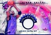2001-02 Fleer Exclusive Vinsanity Collection #2 Vince Carter Shirt