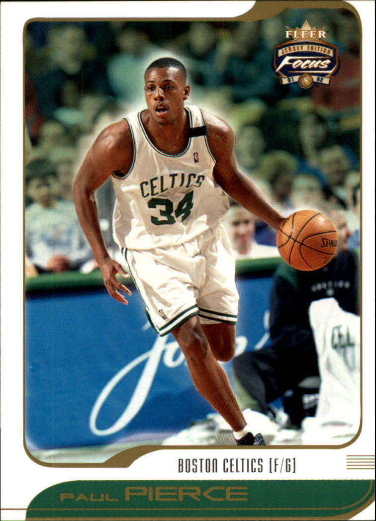 2001-02 Fleer Focus #33 Paul Pierce