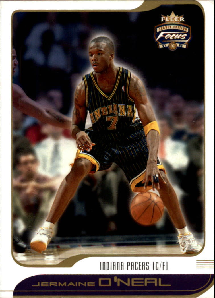 2001-02 Fleer Focus #35 Jermaine O'Neal