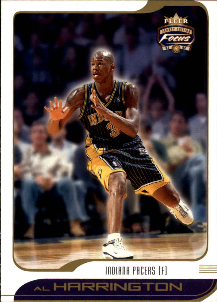 2001-02 Fleer Focus #53 Al Harrington