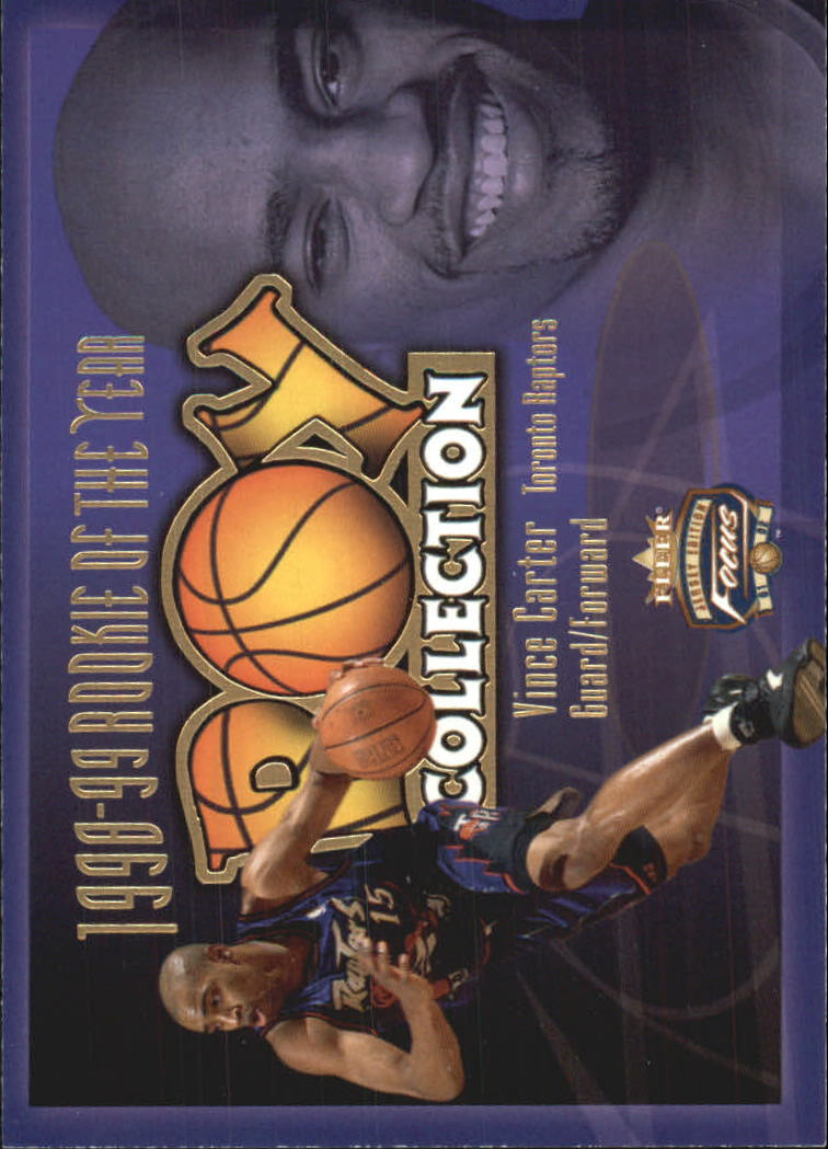 2001-02 Fleer Focus ROY Collection #1 Vince Carter