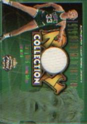 2001-02 Fleer Focus ROY Collection Jerseys #10 Larry Bird