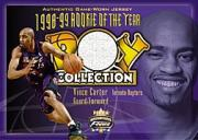 2001-02 Fleer Focus ROY Collection Jerseys Patches #1 Vince Carter
