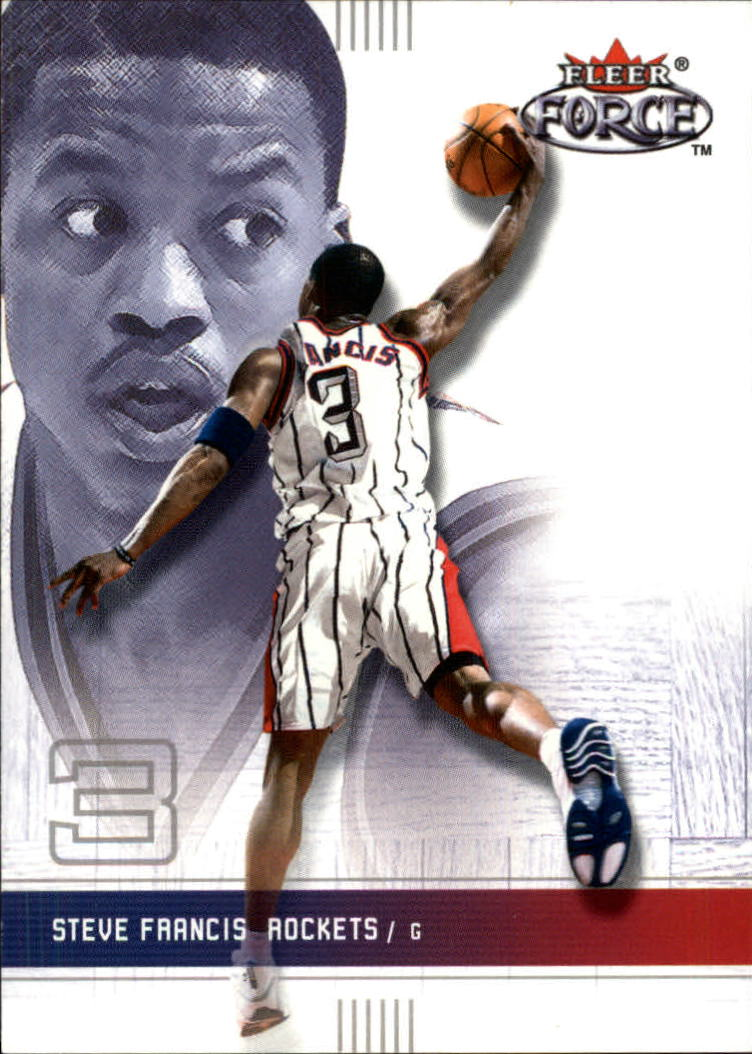 2001-02 Fleer Force #3 Steve Francis