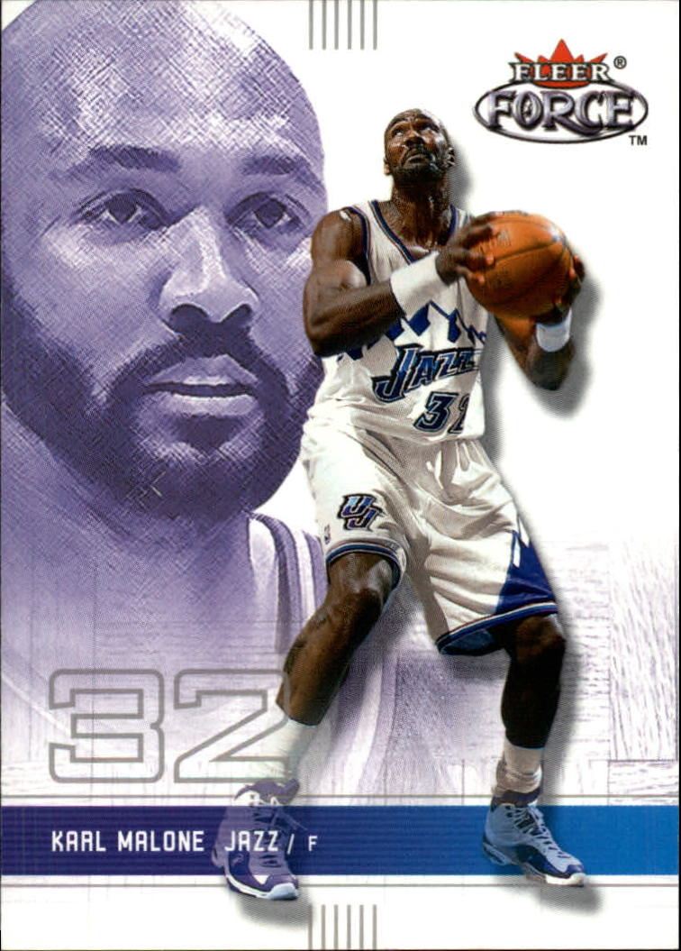 2001-02 Fleer Force #4 Karl Malone
