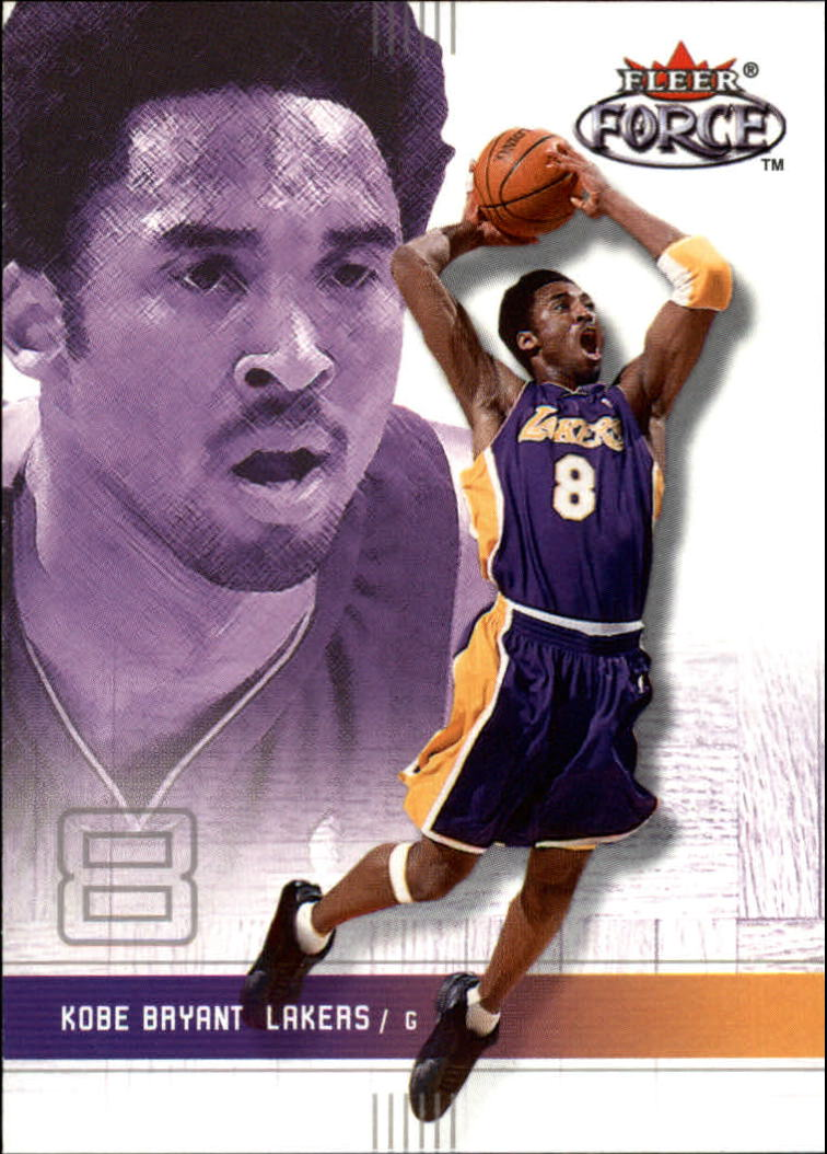 2001-02 Fleer Force #25 Kobe Bryant