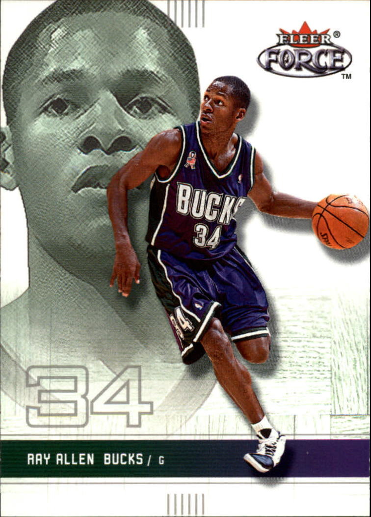 2001-02 Fleer Force #31 Ray Allen