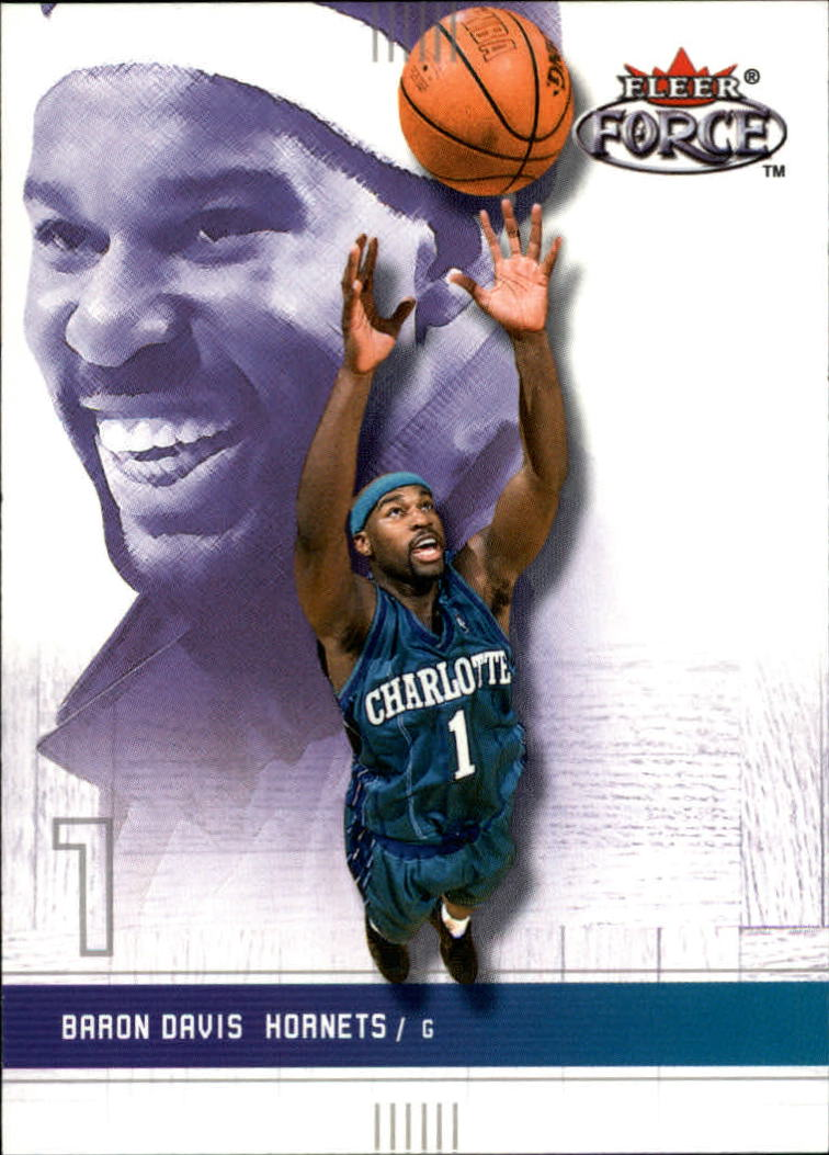 2001-02 Fleer Force #41 Baron Davis