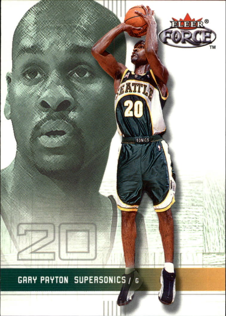 2001-02 Fleer Force #75 Gary Payton