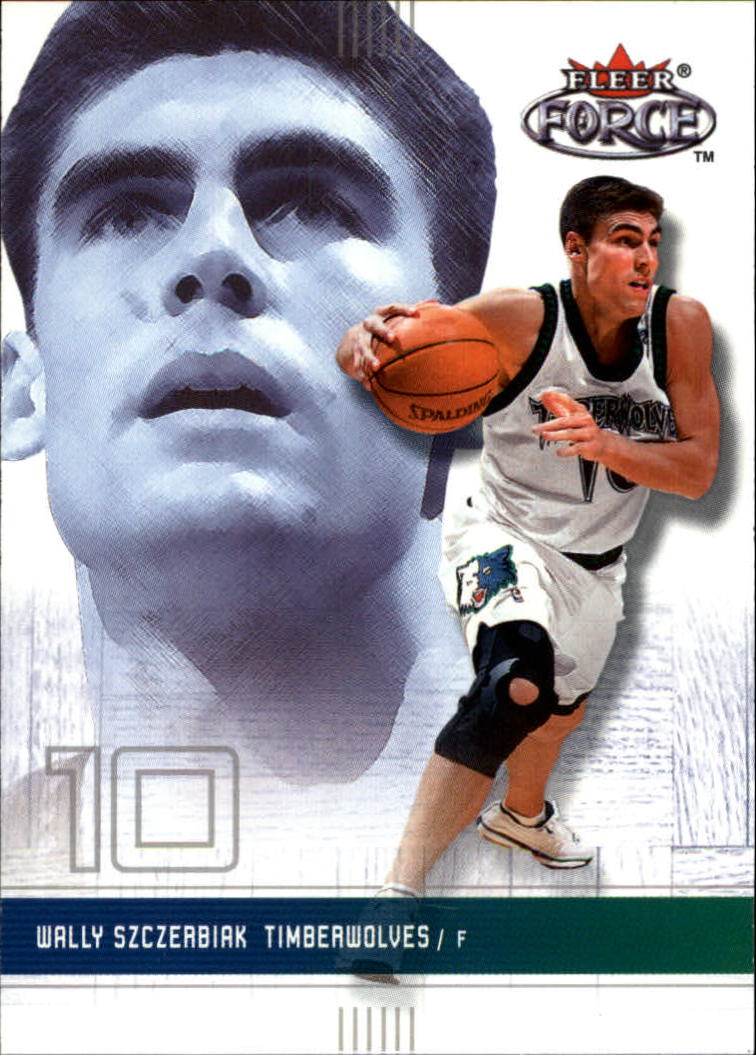 2001-02 Fleer Force #89 Wally Szczerbiak