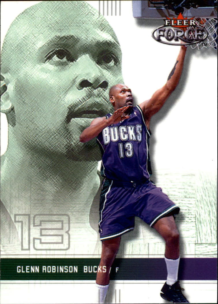 2001-02 Fleer Force #92 Glenn Robinson