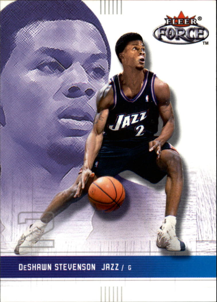 2001-02 Fleer Force #99 DeShawn Stevenson
