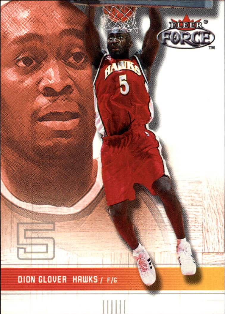 2001-02 Fleer Force #131 Dion Glover
