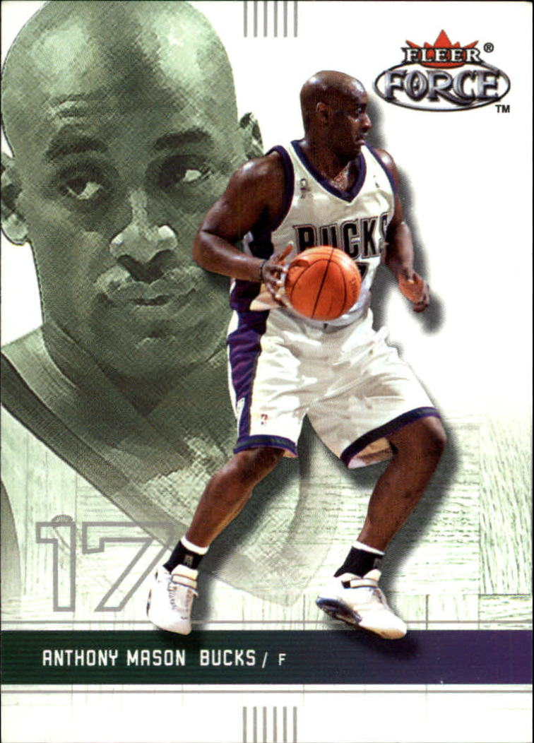 2001-02 Fleer Force #145 Anthony Mason