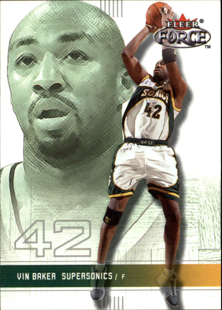 2001-02 Fleer Force #164 Vin Baker