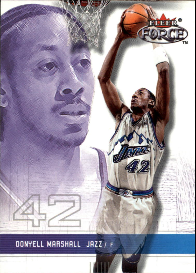 2001-02 Fleer Force #170 Donyell Marshall