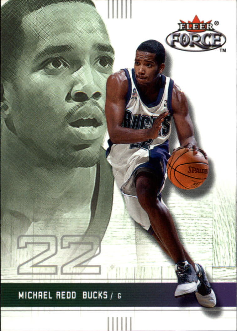 2001-02 Fleer Force #175 Michael Redd