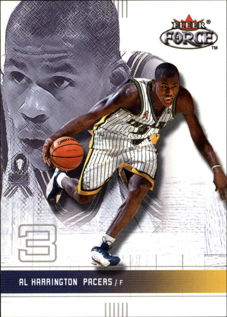 2001-02 Fleer Force #178 Al Harrington