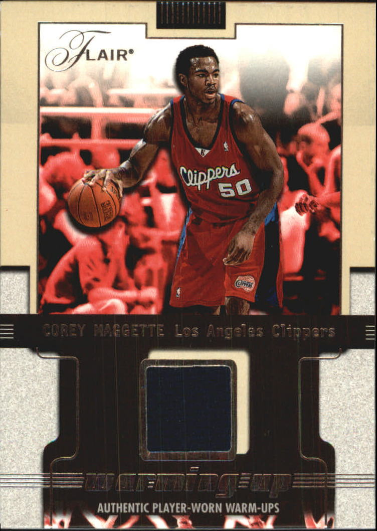 2001-02 Flair Warming Up #8 Corey Maggette