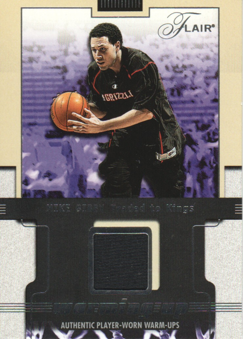 2001-02 Flair Warming Up #14 Mike Bibby