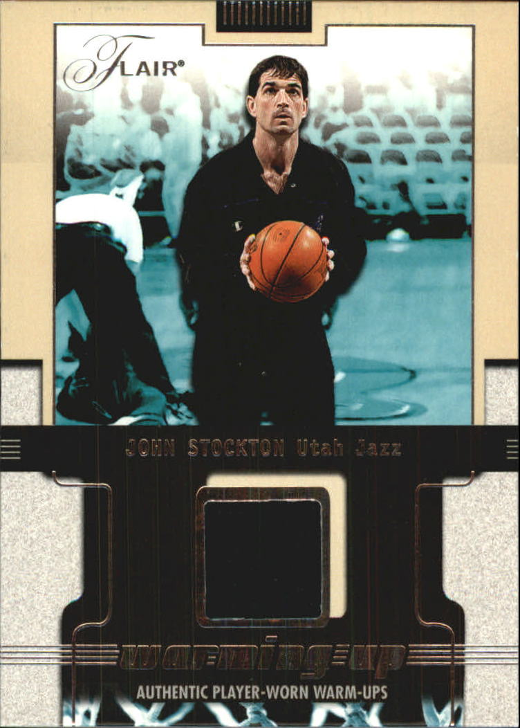 2001-02 Flair Warming Up #18 John Stockton