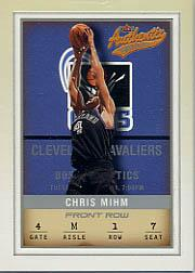 2001-02 Fleer Authentix Front Row Parallel #63 Chris Mihm