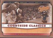 2001-02 Fleer Authentix Courtside Classics #5 Alonzo Mourning