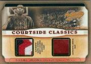2001-02 Fleer Authentix Courtside Classics #7 Dikembe Mutombo