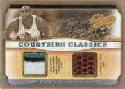 2001-02 Fleer Authentix Courtside Classics #10 Jerry Stackhouse