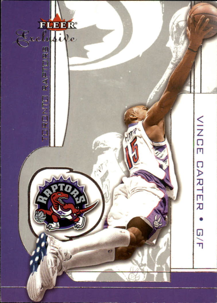 2001-02 Fleer Exclusive #1 Vince Carter