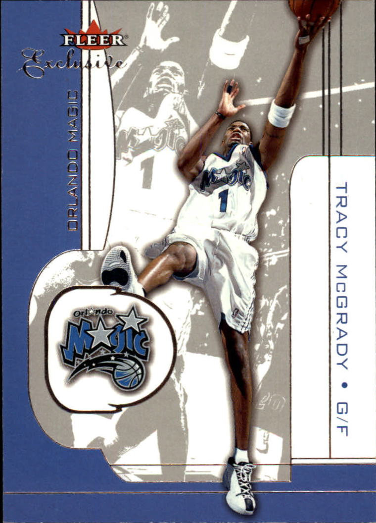 2001-02 Fleer Exclusive #2 Tracy McGrady