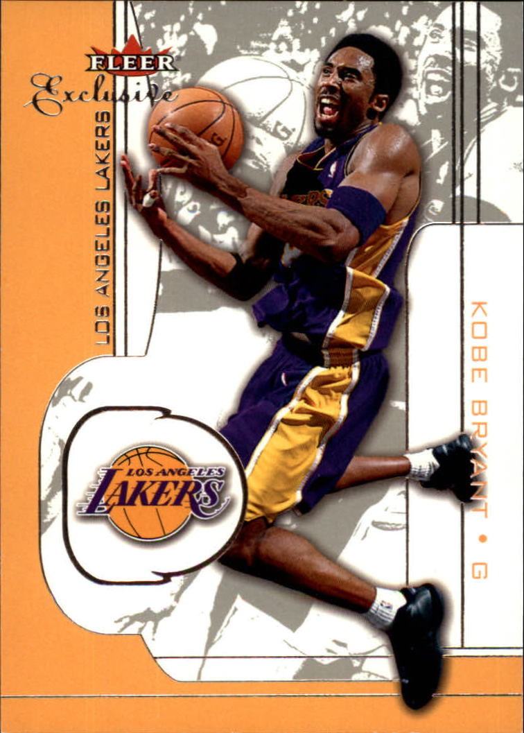 2001-02 Fleer Exclusive #4 Kobe Bryant