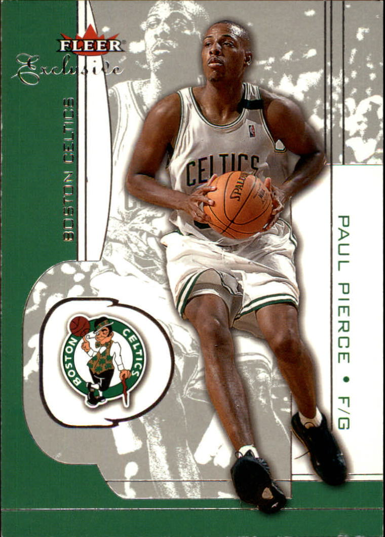 2001-02 Fleer Exclusive #8 Paul Pierce