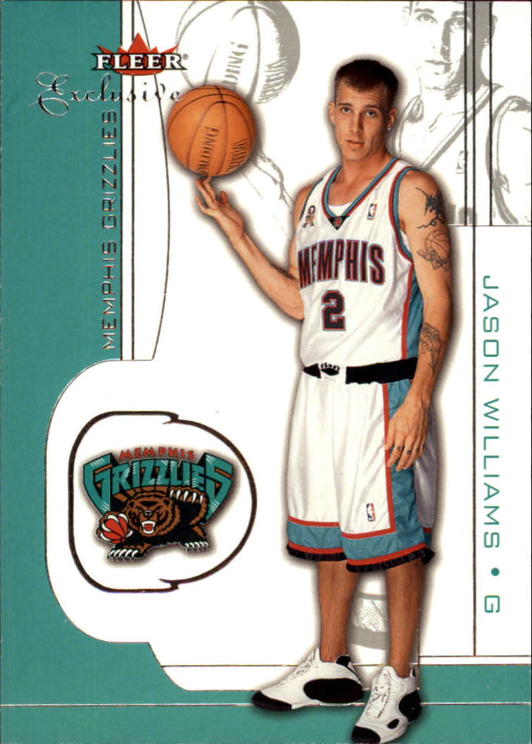 2001-02 Fleer Exclusive #9 Jason Williams