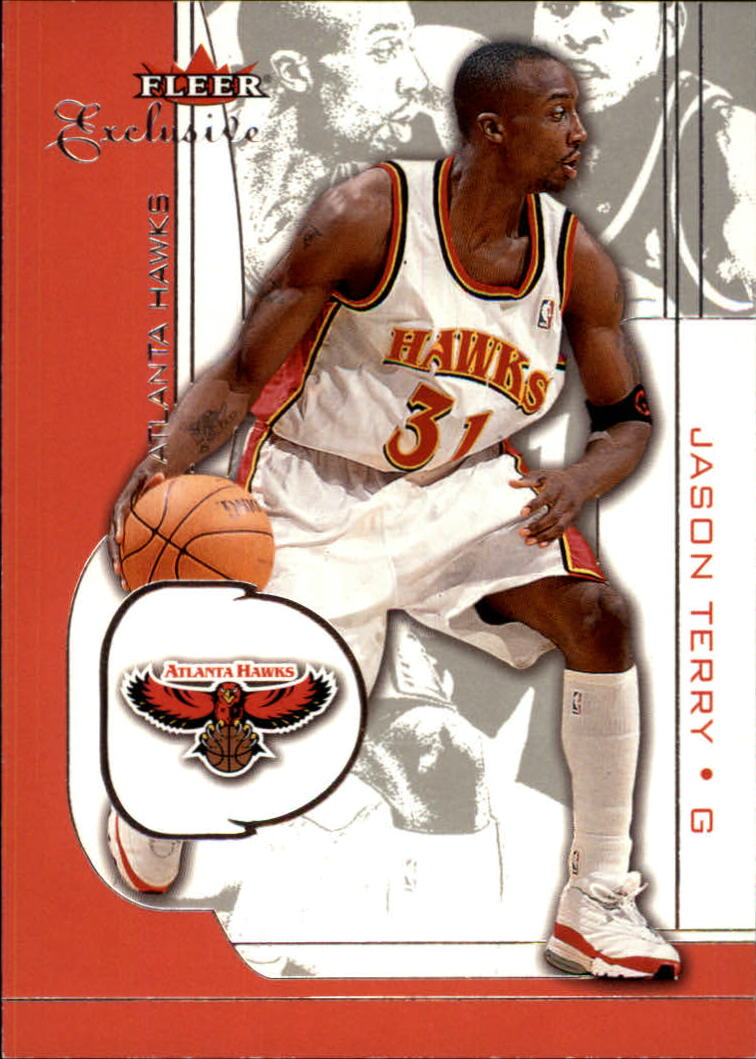 2001-02 Fleer Exclusive #11 Jason Terry