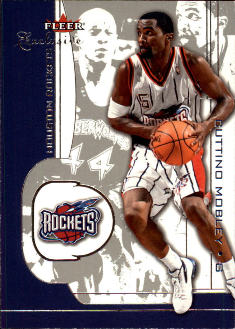2001-02 Fleer Exclusive #13 Cuttino Mobley