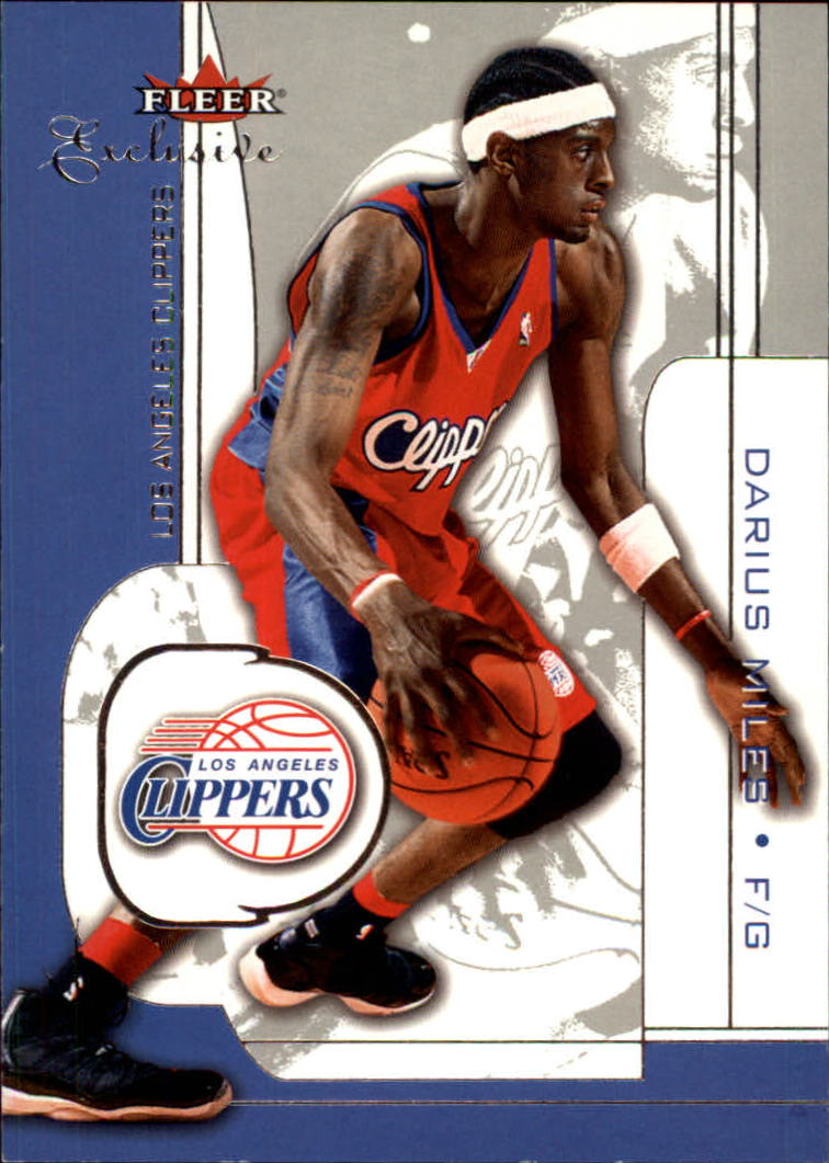 2001-02 Fleer Exclusive #16 Darius Miles