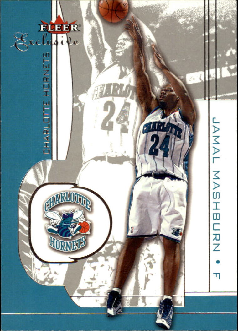 2001-02 Fleer Exclusive #17 Jamal Mashburn