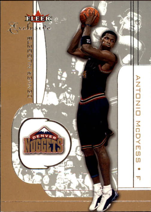 2001-02 Fleer Exclusive #20 Antonio McDyess