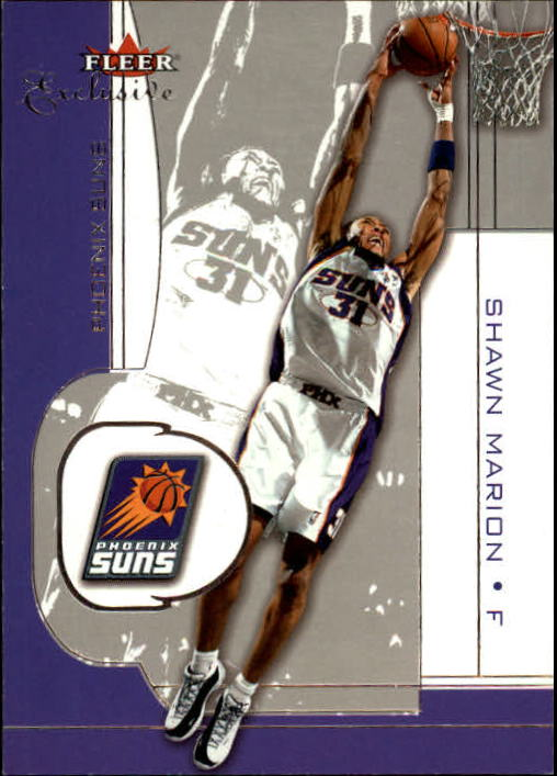 2001-02 Fleer Exclusive #23 Shawn Marion