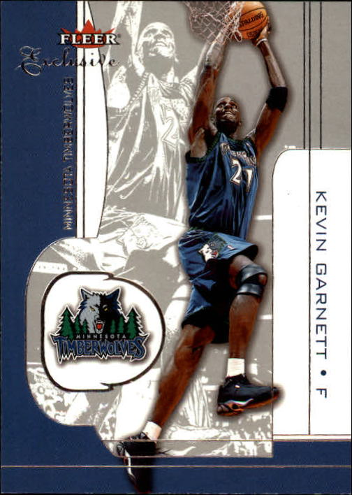2001-02 Fleer Exclusive #25 Kevin Garnett