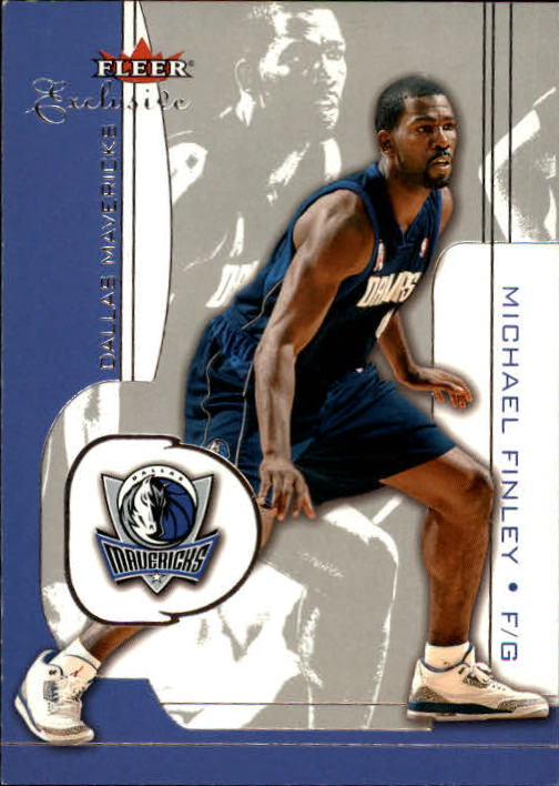 2001-02 Fleer Exclusive #35 Michael Finley