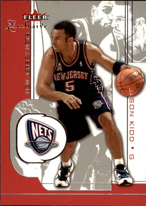 2001-02 Fleer Exclusive #36 Jason Kidd