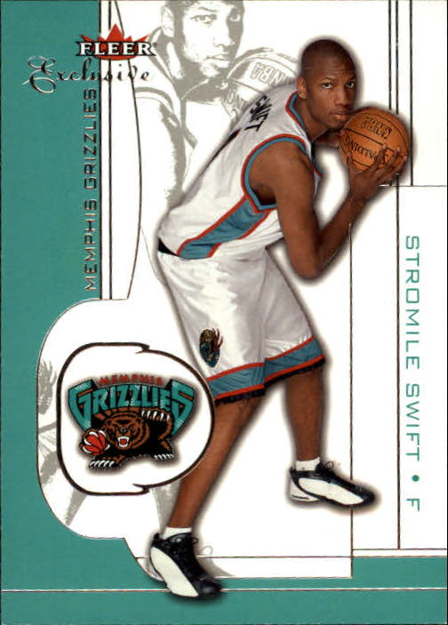 2001-02 Fleer Exclusive #41 Stromile Swift