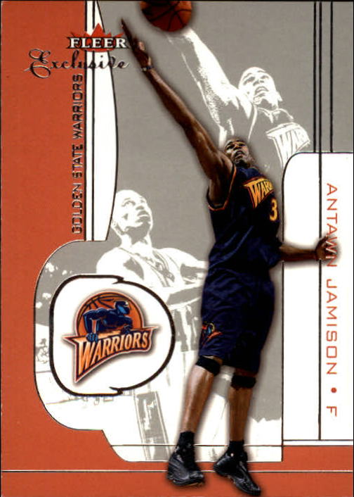 2001-02 Fleer Exclusive #45 Antawn Jamison
