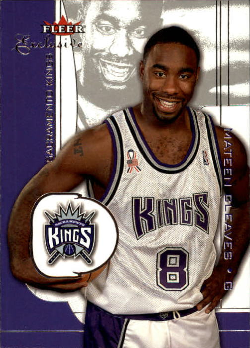 2001-02 Fleer Exclusive #47 Mateen Cleaves