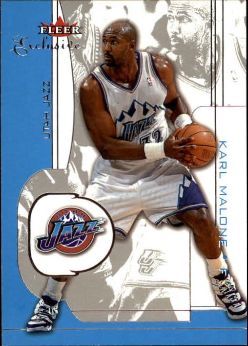 2001-02 Fleer Exclusive #48 Karl Malone