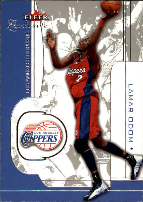 2001-02 Fleer Exclusive #49 Lamar Odom